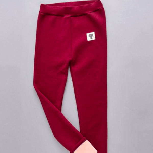 Trendy Cat Legging wine red
