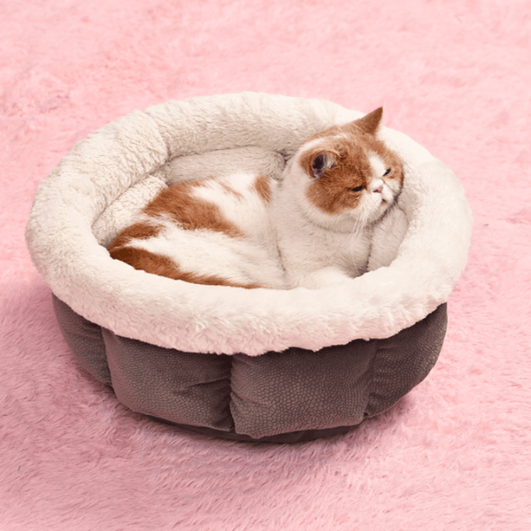 Super Soft Warm Cat Bed Gray