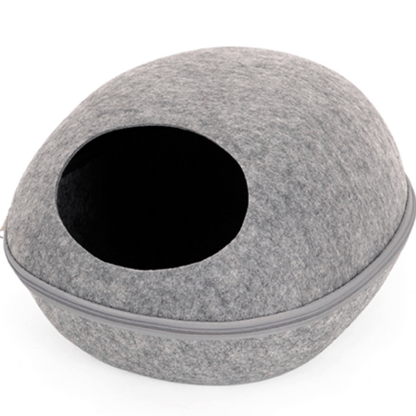 Modern Cat Bed - Gray