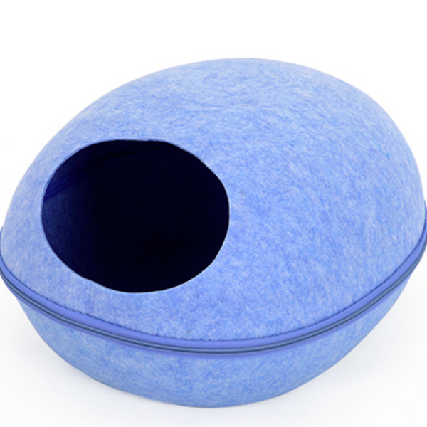 Modern Cat Bed - Blue