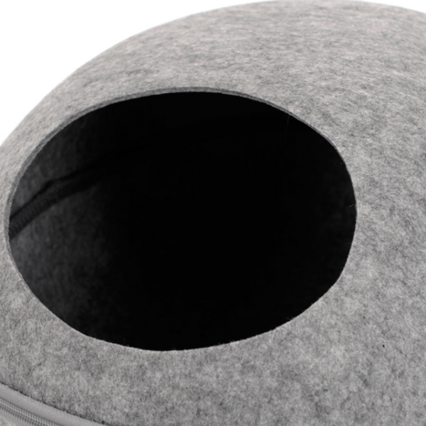 Modern Cat Bed - detail hole