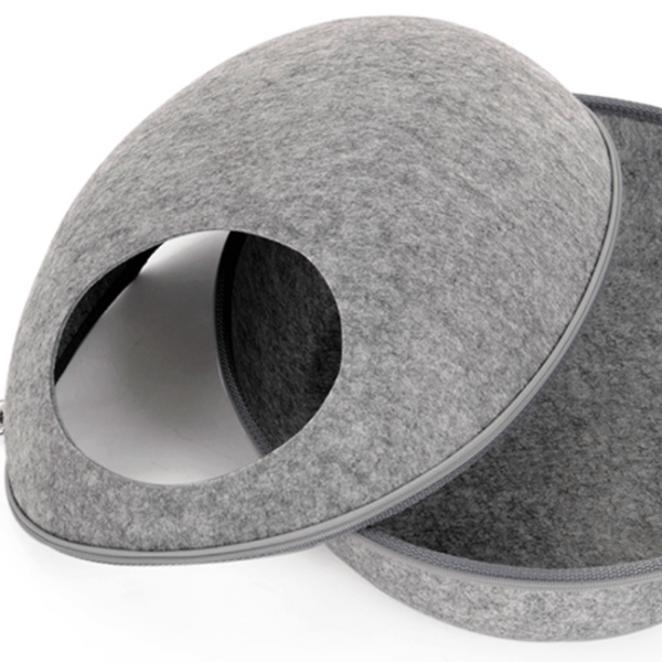 Modern Cat Bed - Cute Ball House - Available in 3 Colors