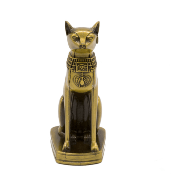Egyptian Cat God Statue - Front