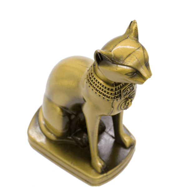 Egyptian Cat God Statue - Above