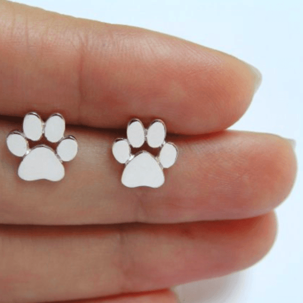 Cat Earrings - Little Paws - Available in 3 Colors