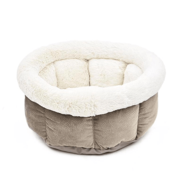 Super Soft Warm Cat Bed  - Beige