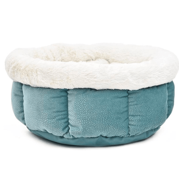 Super Soft Warm Cat Bed  - CadetBlue