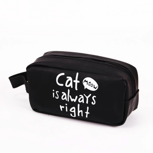 Big Cat Pencil Case -Cat Always Right