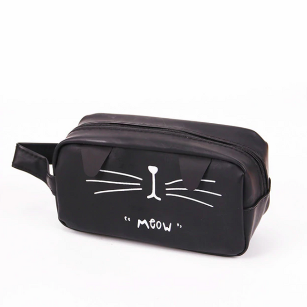 "Big Cat Pencil Case - ""Meow"""