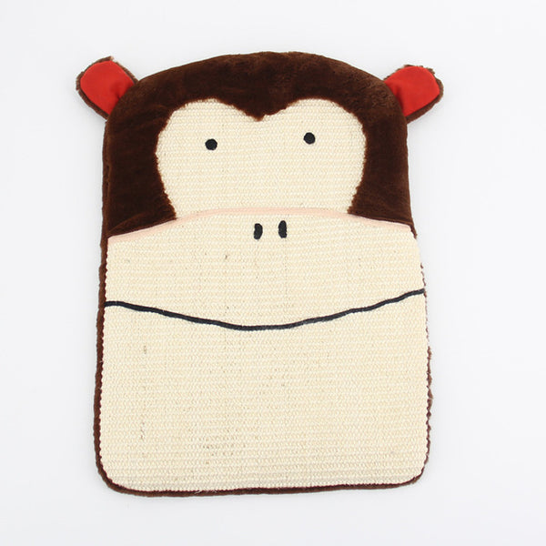 Funny Animal Scratcher Board - Monkey