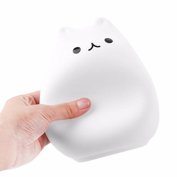 Cat Shaped Night Light - Squeeze