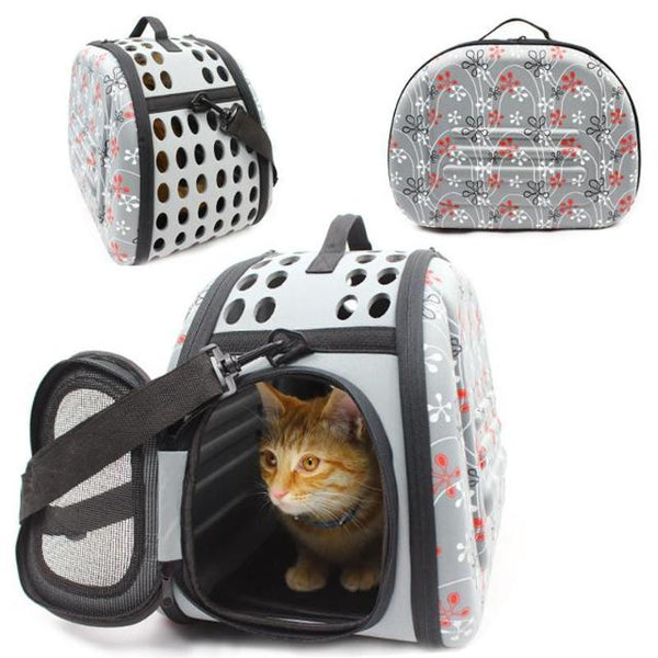 Foldable Cat Travel Carrier Bag