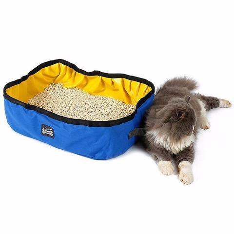 Foldable Cat Litter Box 2