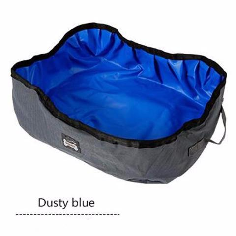 Foldable Cat Litter Box - Blue