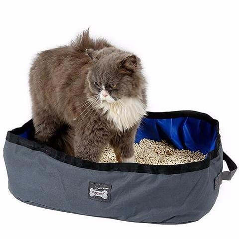 Foldable Cat Litter Box - Available in 2 Colors