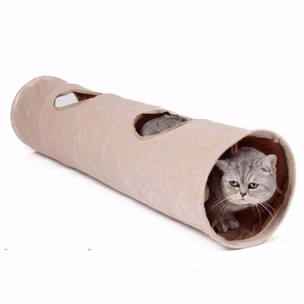 007 Cat Tunnel Toy With Ball