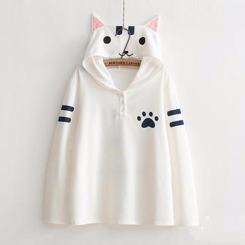 Hoodie Cat Paw - Front