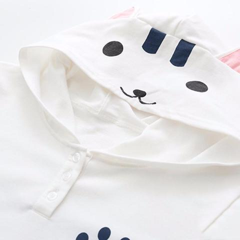 Hoodie Cat Paw - Available in 2 Colors