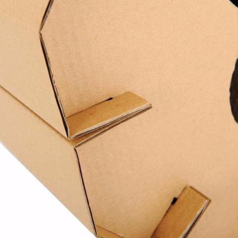 Cardboard Cat House - Eco-Friendly Home