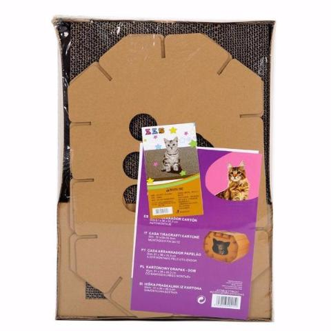 Cardboard Cat House - Eco-Friendly Home - Packaging