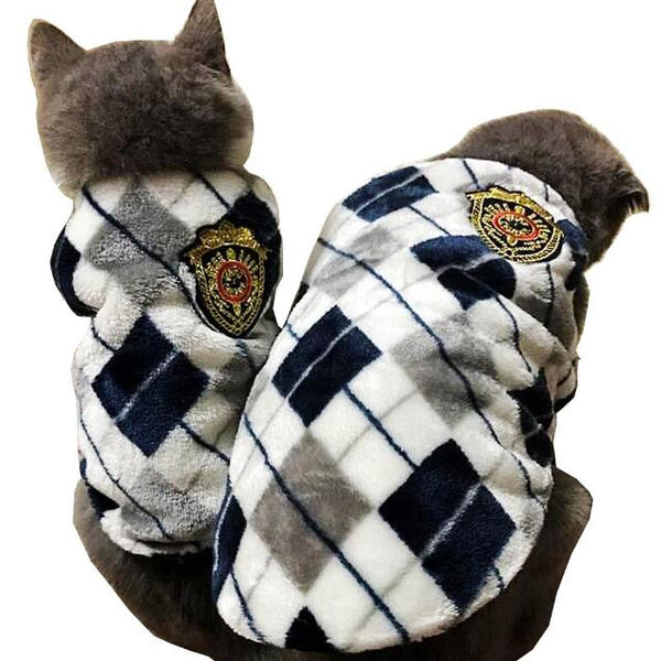 Flannel Cat Vest