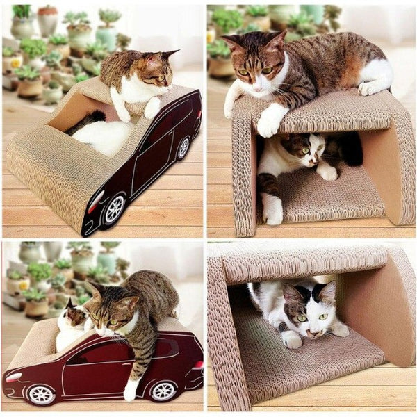 Maxi SUV Cat Scratcher - Customer View