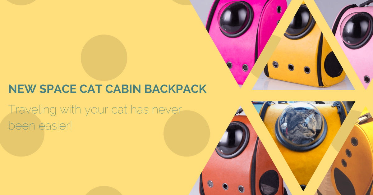 New Space Cat Cabin Backpack