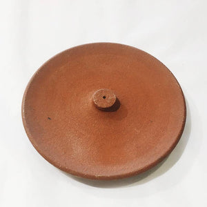 Raw Red Clay Incense Holder