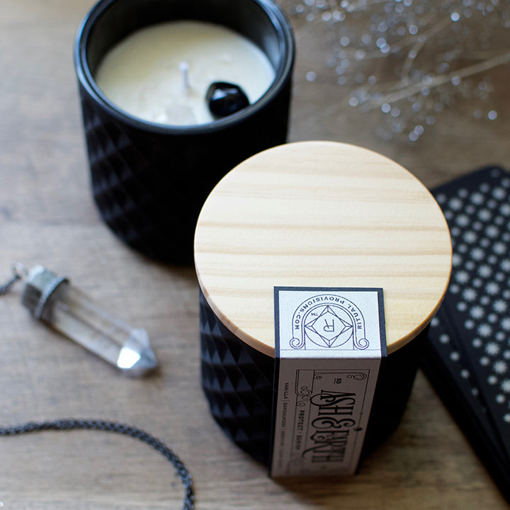 Ash & Earth New Moon Ritual Candle