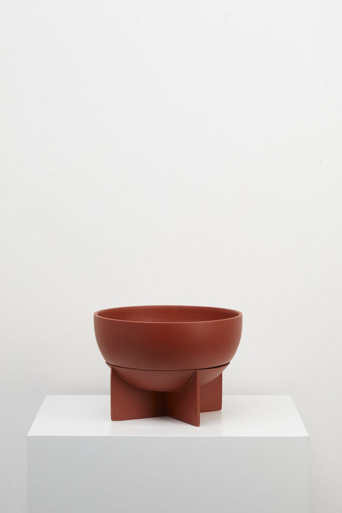 Capra Designs Dome Eros Planter in Terracotta