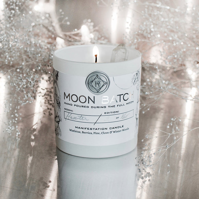 Winter Solstice Moon Batch Candle