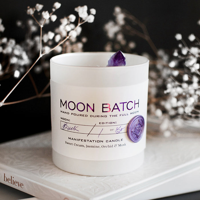 Lunar Twilight Moon Batch Candle