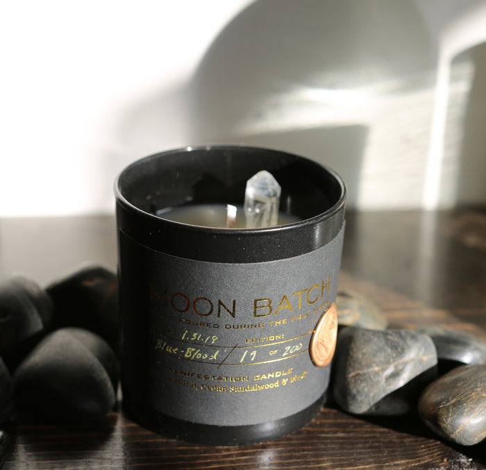 Black Label Moon Batch Candle