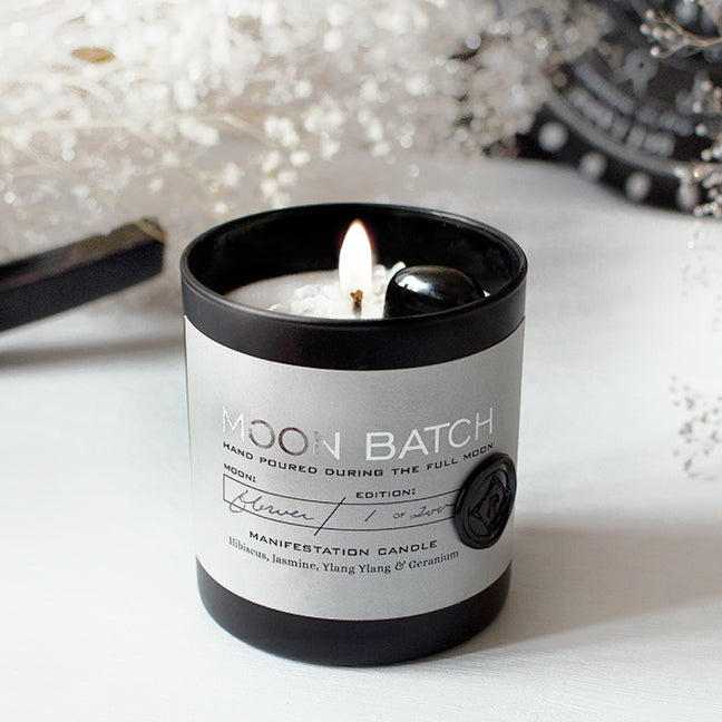 Nocturnal Garden Moon Batch Candle