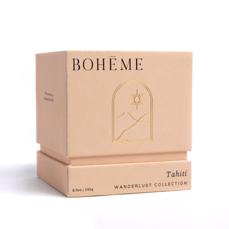 BOHĒME Candles - Tahiti
