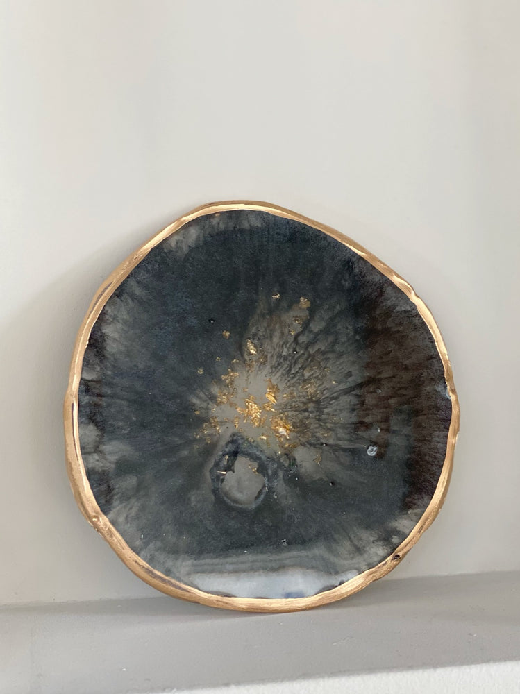 Resin Geode Tray - Midnight