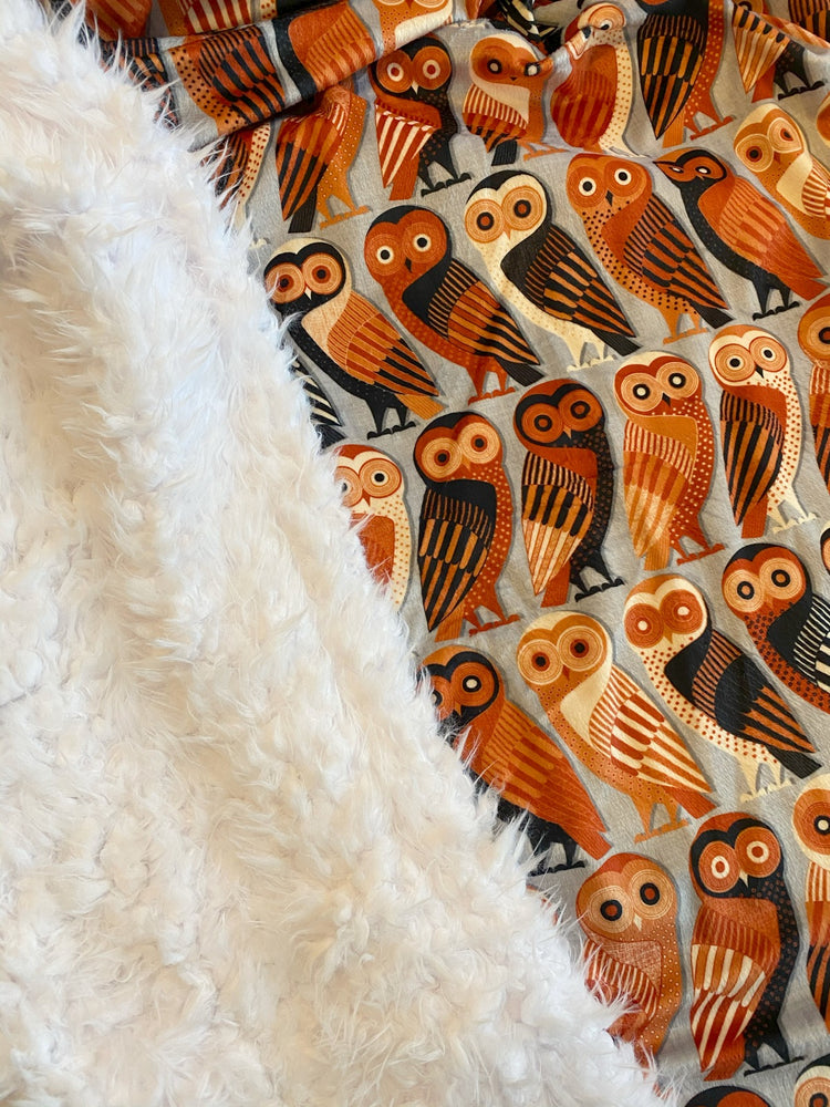 Load image into Gallery viewer, Ultimate Snuggle Blankie - Athens Owl