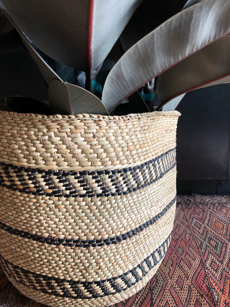 Handwoven Milulu Basket from Tanzania