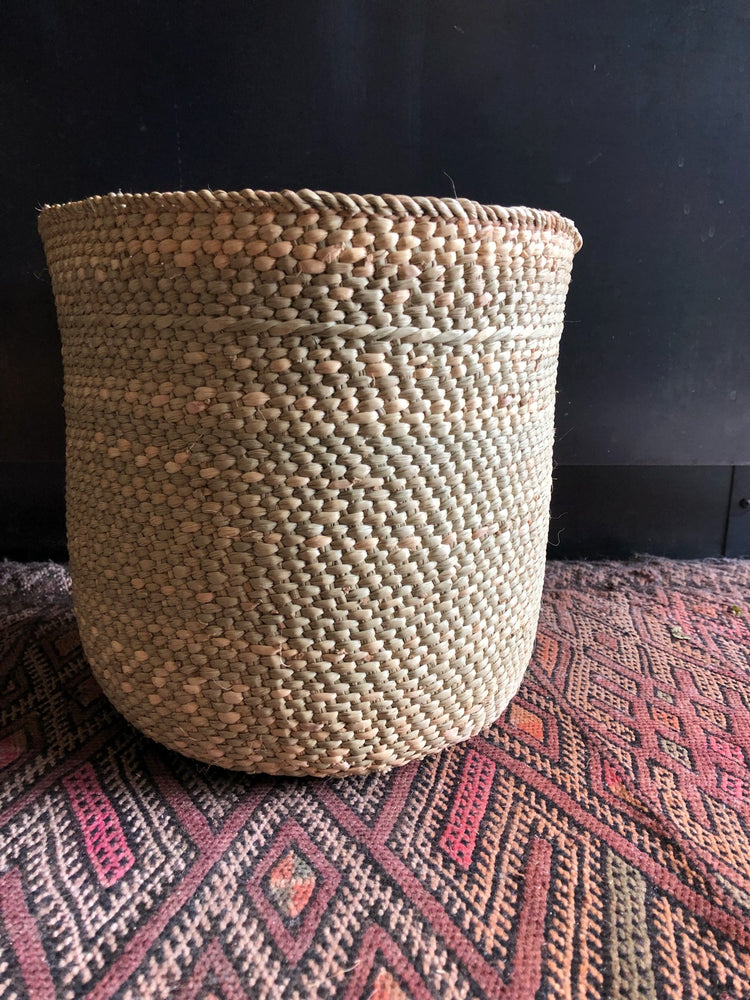 Small Handwoven Milulu Basket from Tanzania