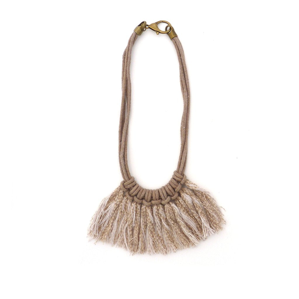 Zelma Rose - Saguaro Fringe Necklace