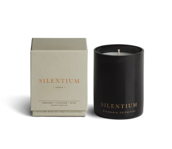 Silentium (Silence) Candle