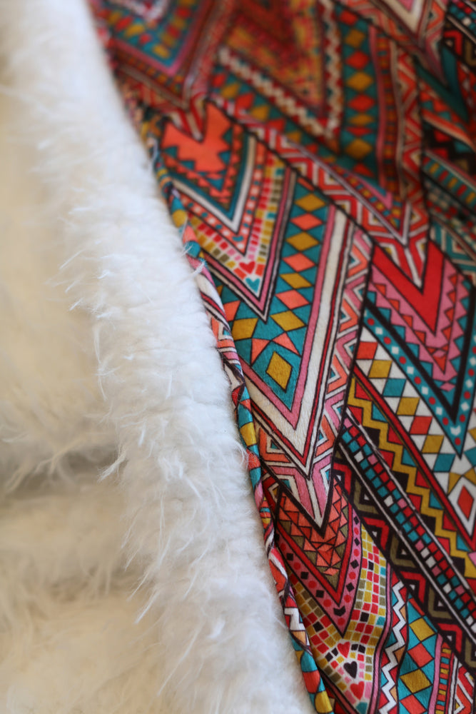 Ultimate Snuggle Blankie - Boho Love