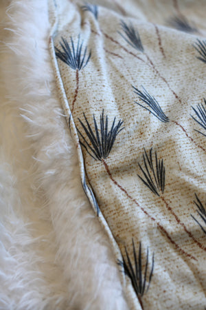 Ultimate Snuggle Blankie - Earthen Palm