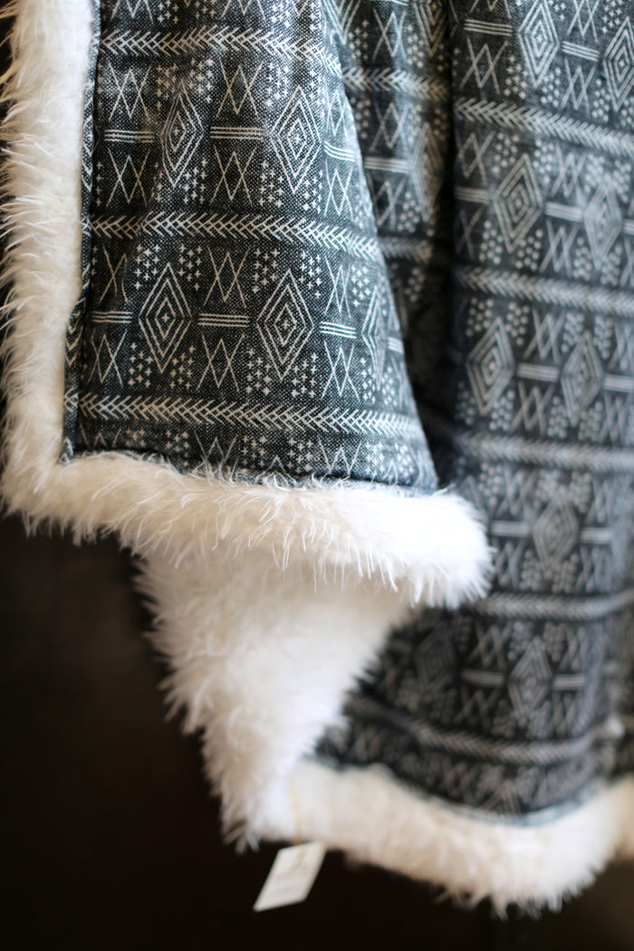 Ultimate Snuggle Blankie - Northern African Print