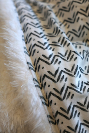 Ultimate Snuggle Blankie - Triangle Print