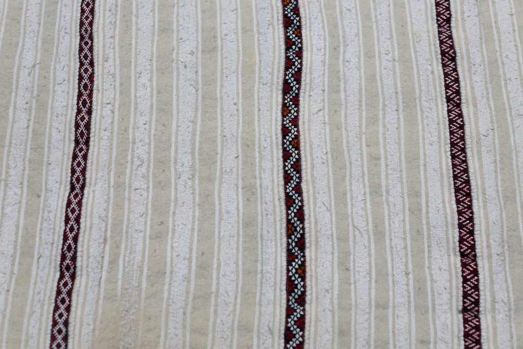 Vintage Handira, Moroccan Wedding Blanket No. 004