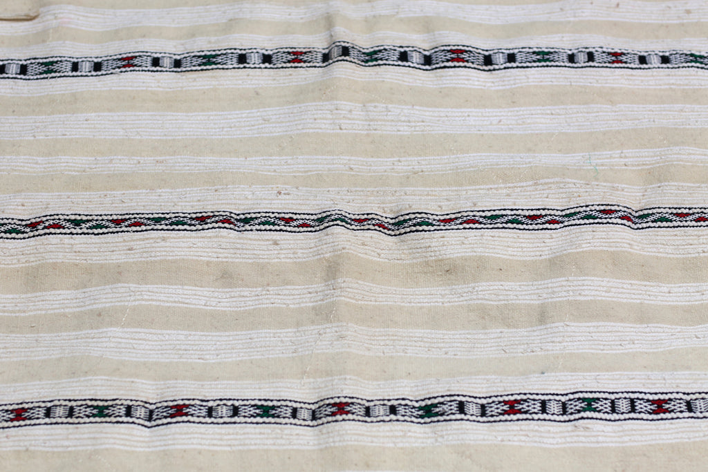 Vintage Handira, Moroccan Wedding Blanket No. 009
