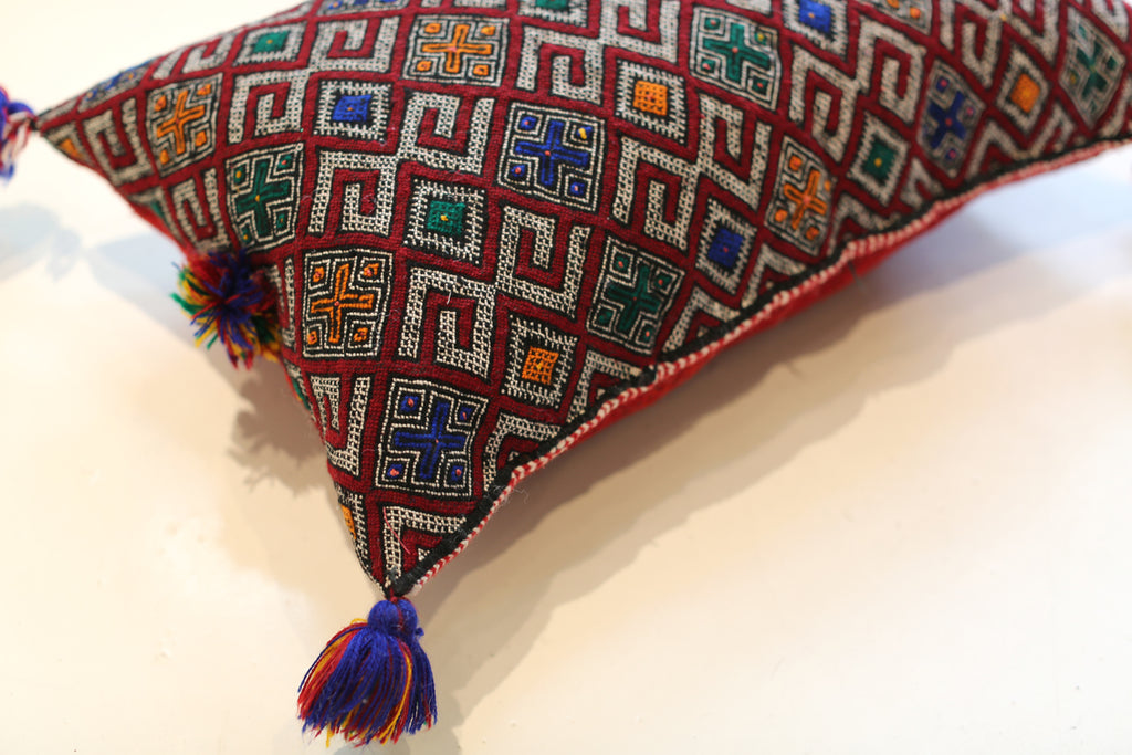 Vintage Moroccan Pillow No. 5040