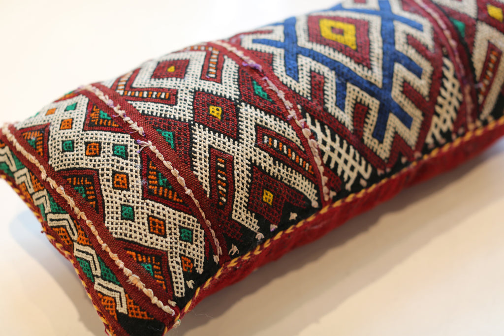 Vintage Moroccan Pillow No. 5042