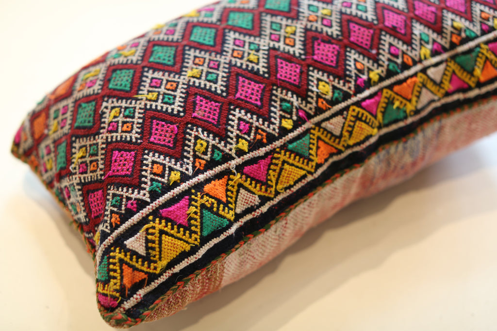 Vintage Moroccan Pillow No. 5043